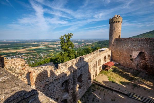 Nord-West-Turm und die Rheinebene