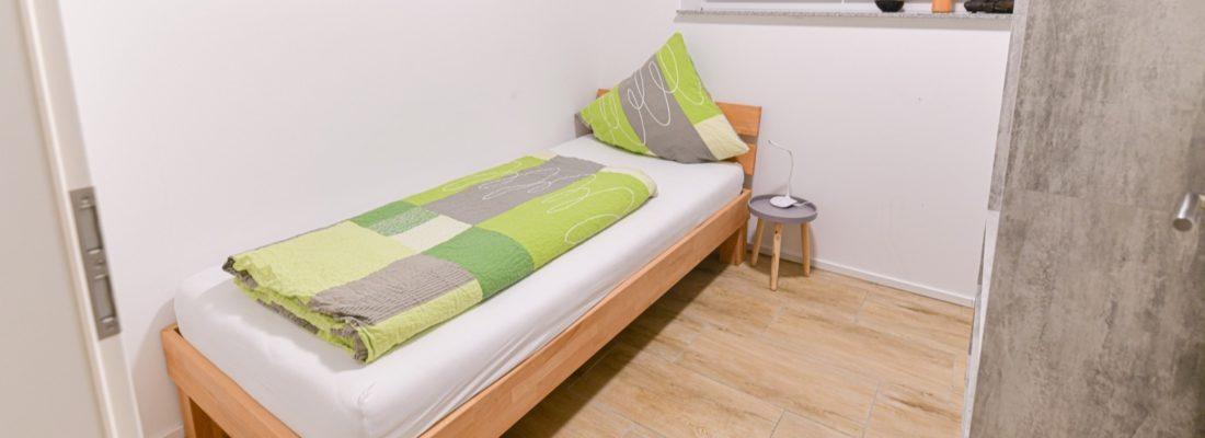 Kleines seperates Schlafzimmer
