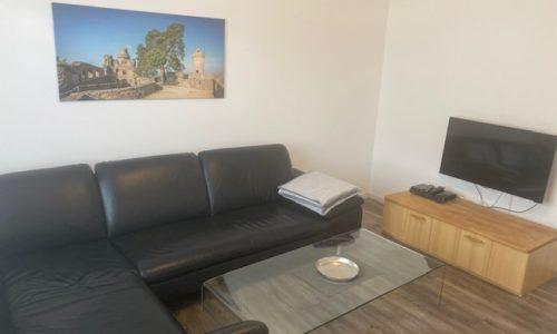 Flat TV mit W-Lananschluss in der Ferienwohnung Heppenheim