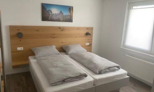 Schönes Schlafzimmer in der Ferienwohnung Heppenheim