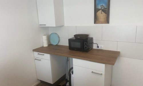 Ferienwohnung Heppenheim Mikrowelle in der Küche